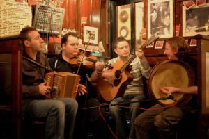 irish folk band